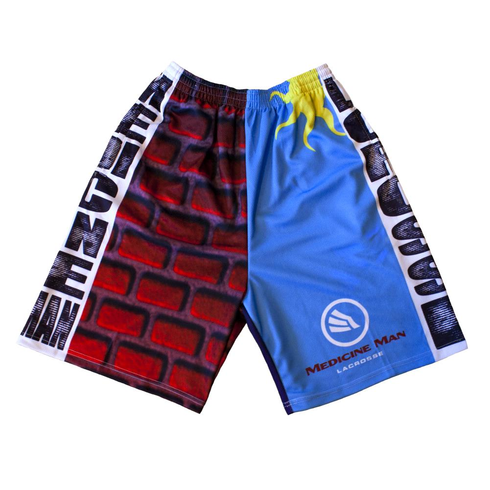 It Starts at the Wall Lacrosse Shorts