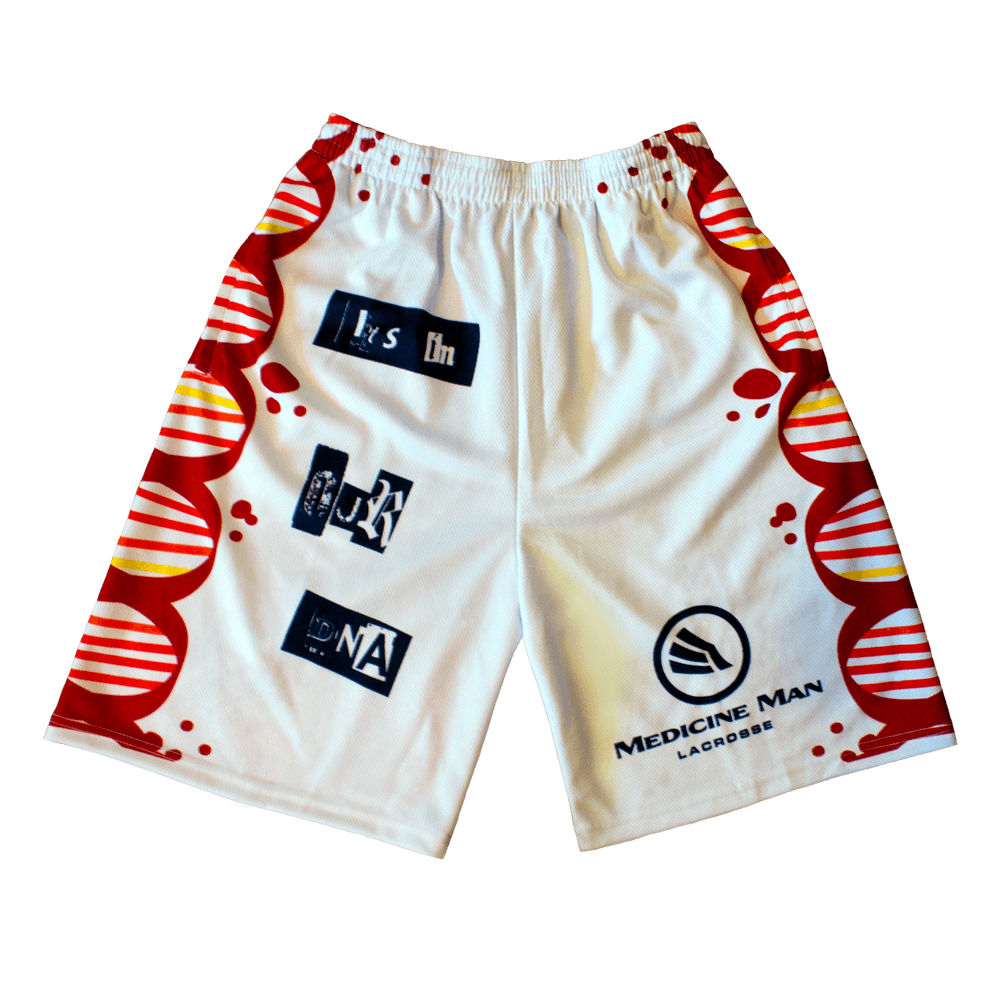 Lacrosse Shorts DNA Front