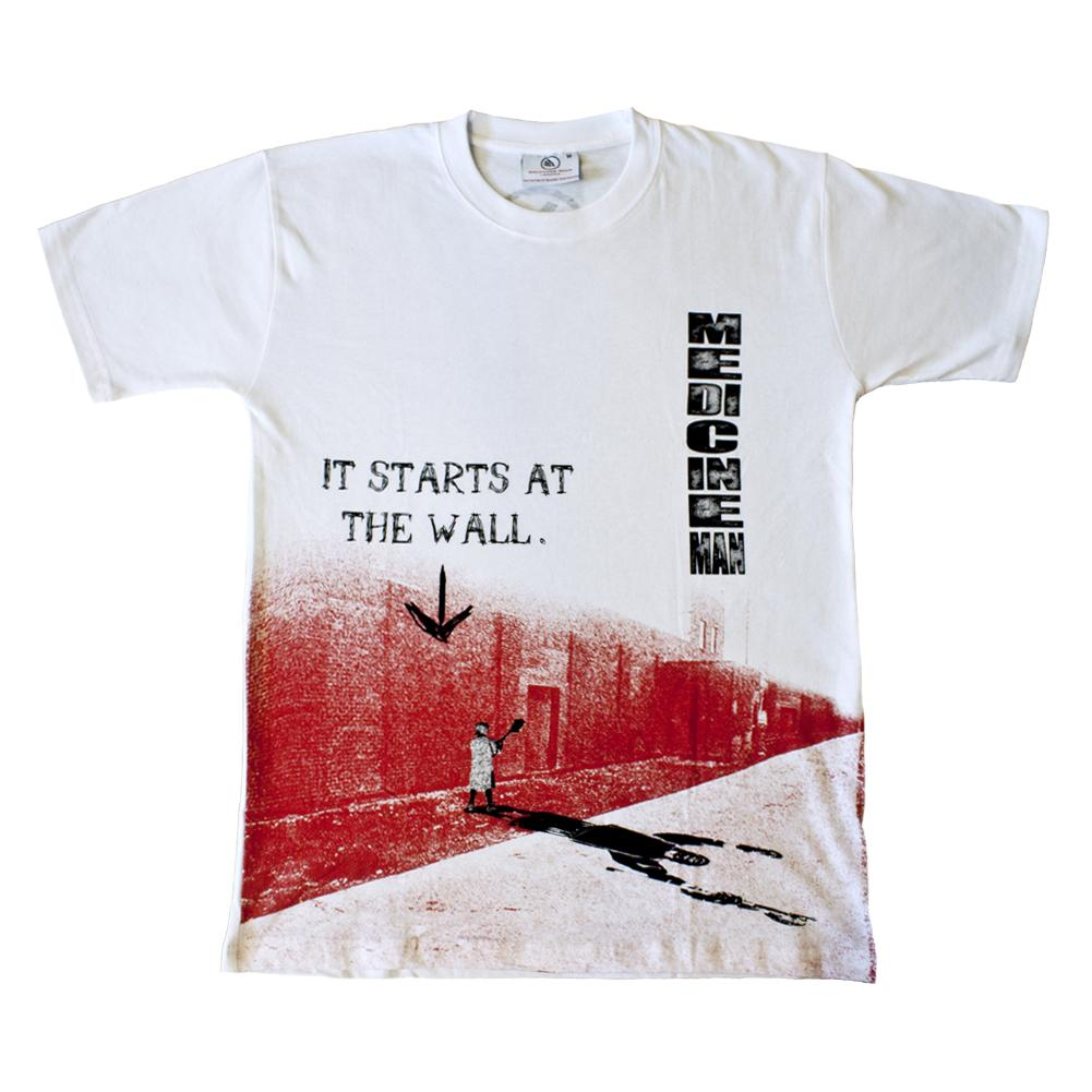 It Starts at the Wall Lacrosse Shirt