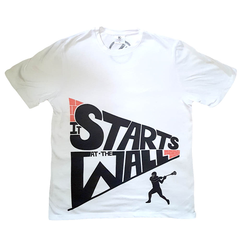 Men's Starts at the Wall Lacrosse Shirt